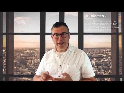 AutoCAD 2019 Tutorial - Ausrichten